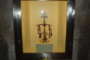 Showcase for the Holy Cross of Anglesola