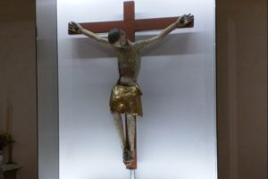 Showcase for the Christ of Llívia