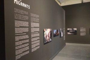 """CaixaFòrum Exhibition """"We are migrants"""""""