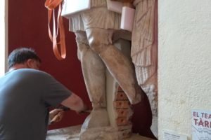 Removal of objects from the MNAT (National Museum of Archeology of Tarragona)