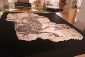 Transport of MAC's Roman tiles to the CRBMC