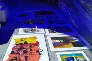 "Exhibition ""Seeroo fi al ardh"" Carousel Building, Doha, Qatar."