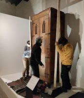 The Monastery's Storage Furniture. The grandeur of simplicity, exhibition