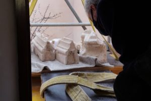 Creation of a warehouse for the archaeological pieces of the Carthusian Monastery of Scala Dei