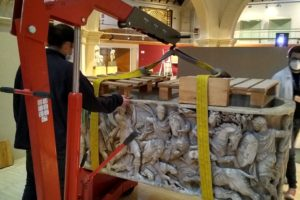 Relocation at the Museum of Archeology of Catalonia
